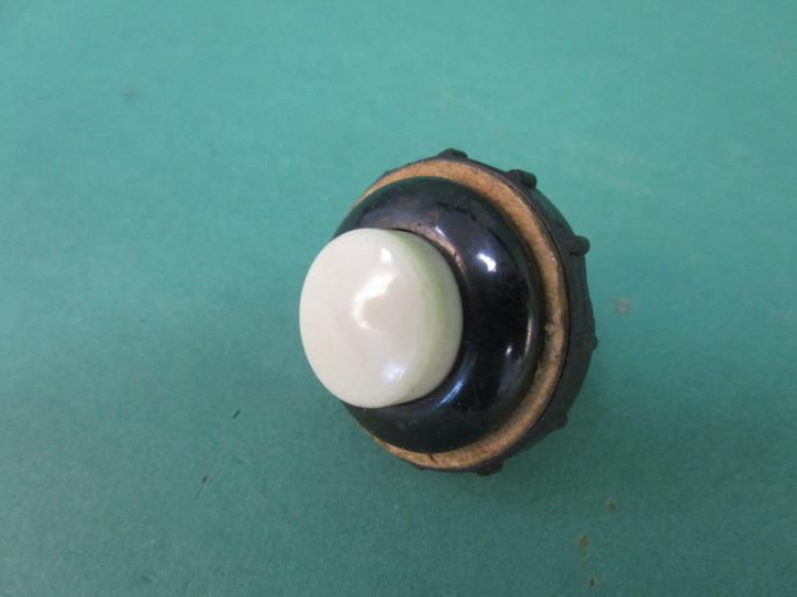 Startknopf schwarz/elfenbein