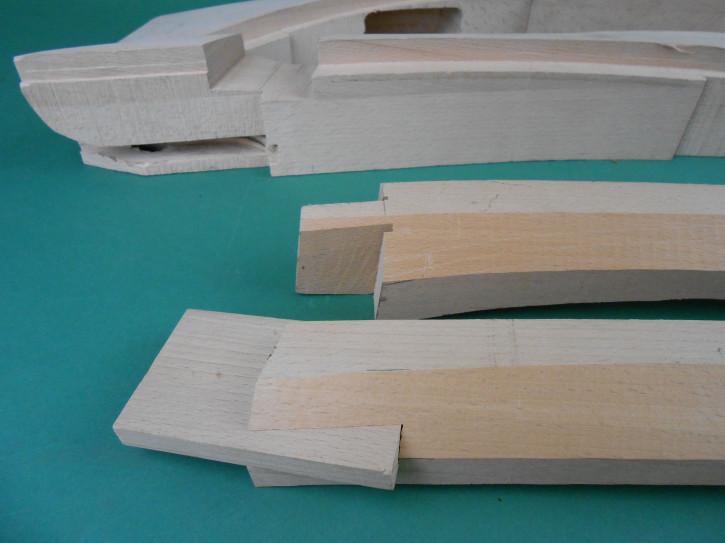 Holzsatz A-Säule BMW EMW 327