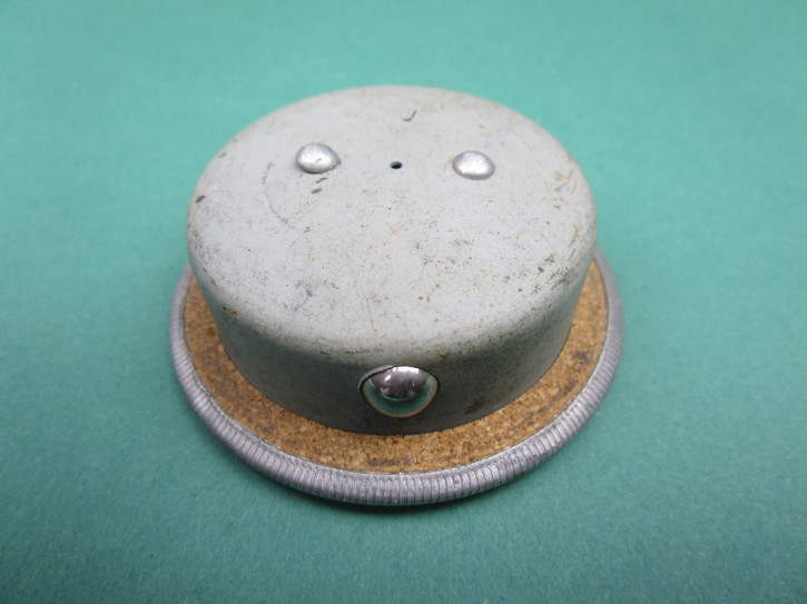 Tankdeckel Patent Blau Nachkrieg