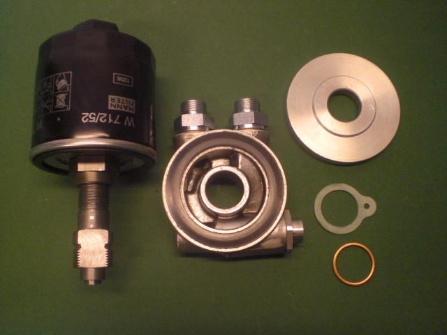 Ölfilterset mit Ölkühleranschluss