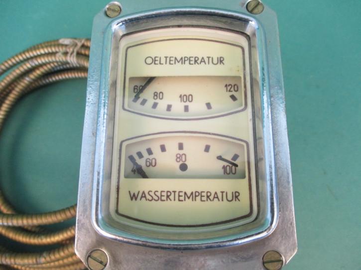 Kombigerät Öltemperatur Wassertemperatur