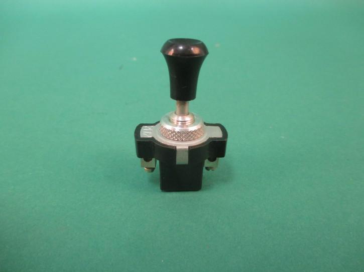 Schalter Knopf schwarz