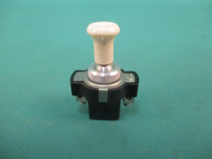 Schalter Knopf elfenbein