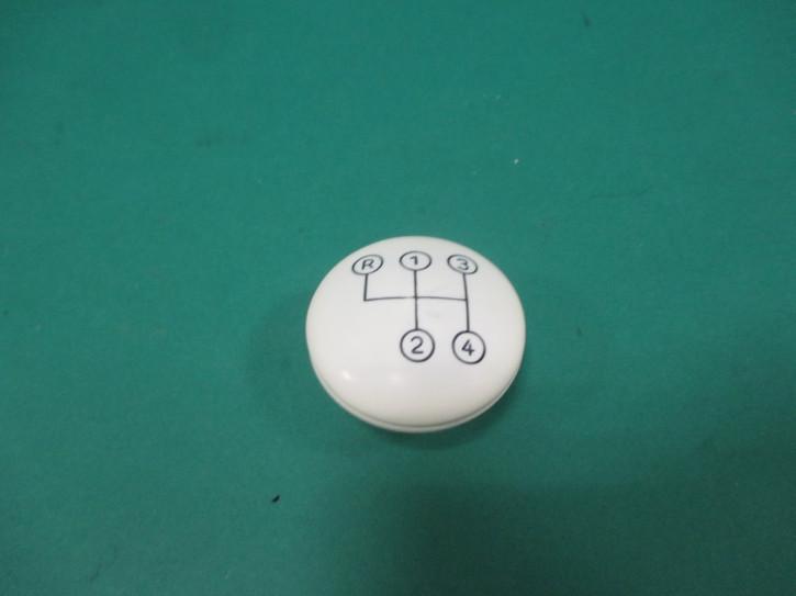 Schaltknopf M10 elfenbein