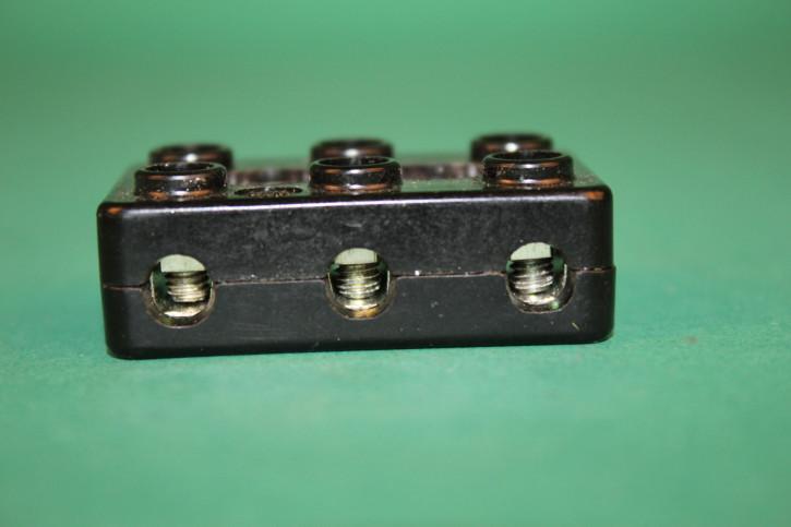 Kabelverbinder 3-reihig