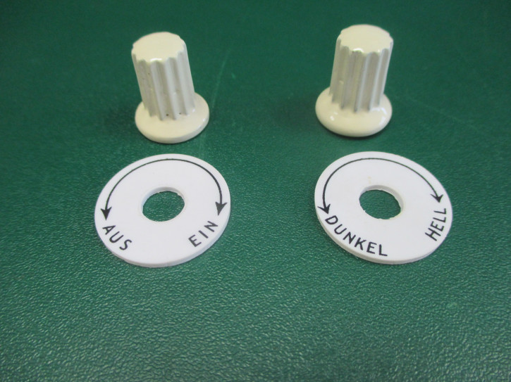 Knopfsatz Rundarmatur