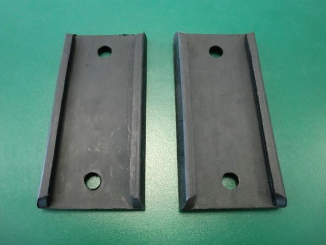 Stoßstangenunterlagen Gummi 45mm